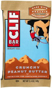 Clif bars peanut butter